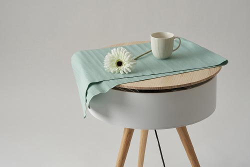 fan coffee table brise