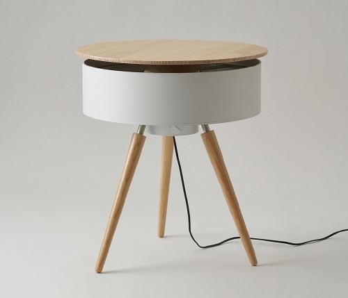 fan coffee table brise