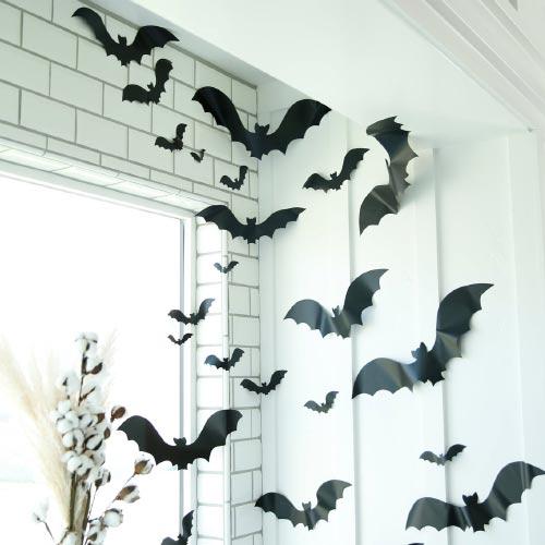 halloween bat decals