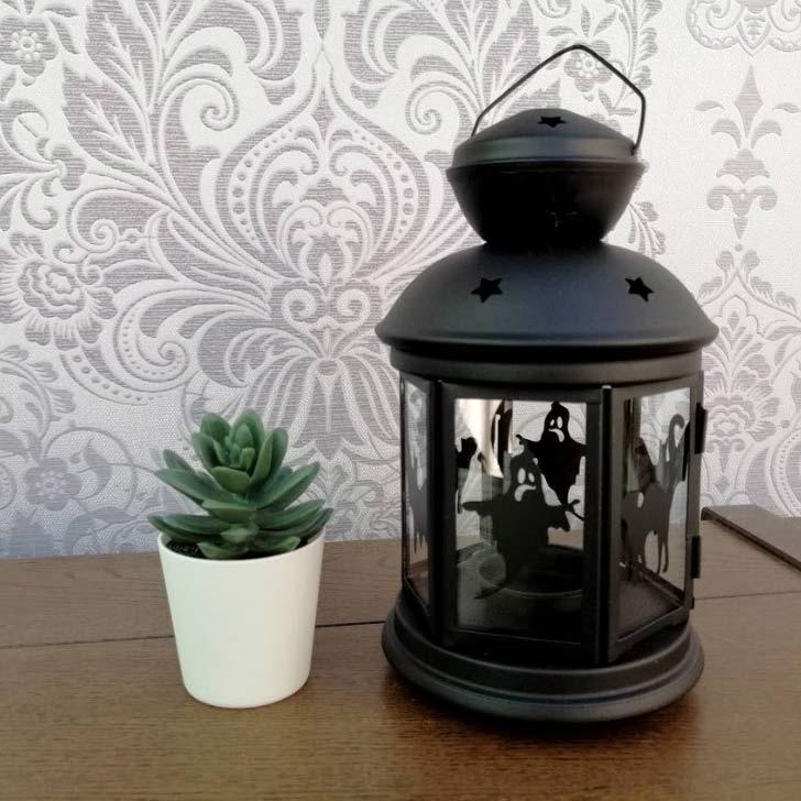 spooky lantern for halloween