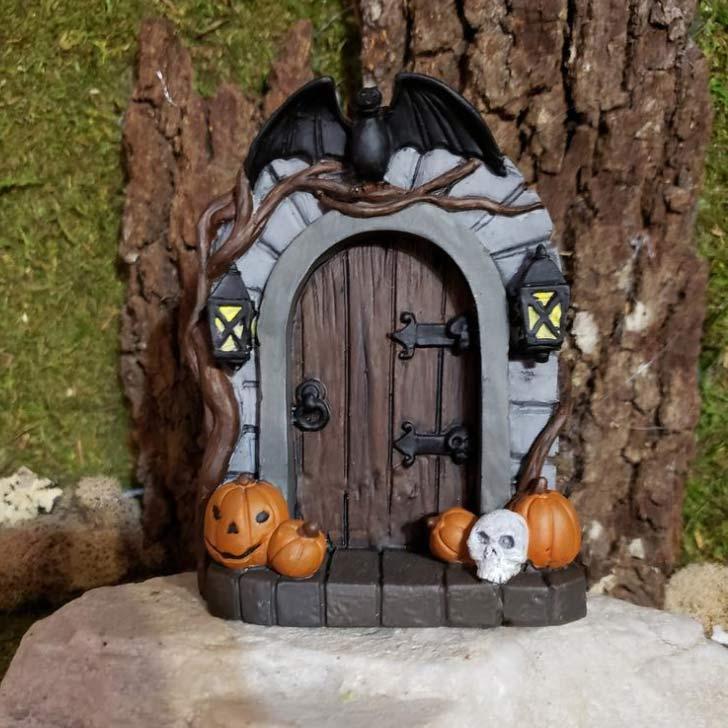 tiny fairy halloween door