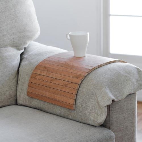 wooden sofa tray
