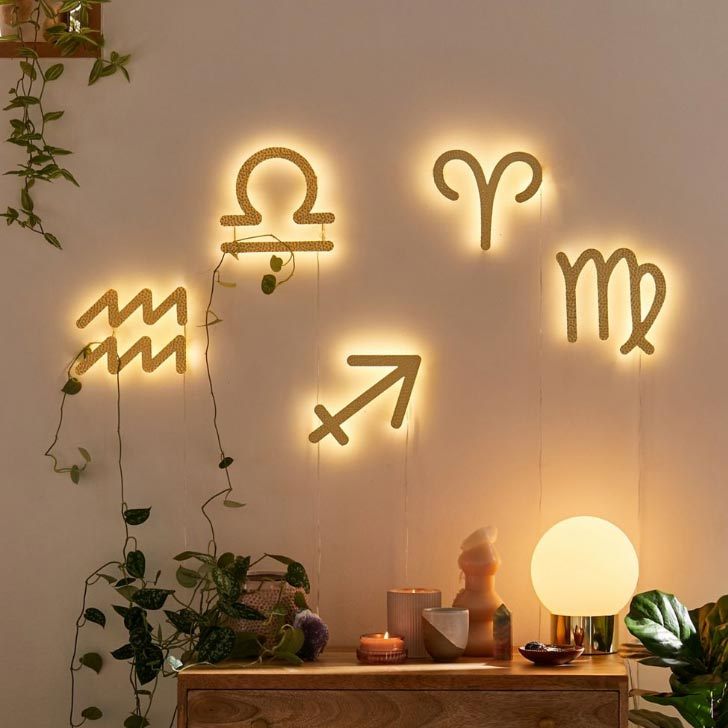 zodiac led signs