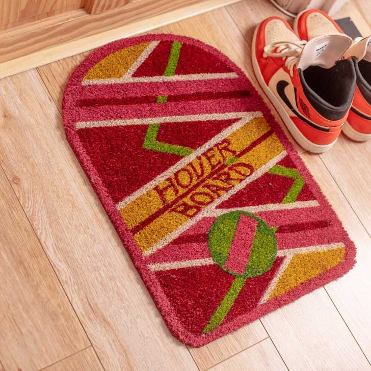 back to the future doormat