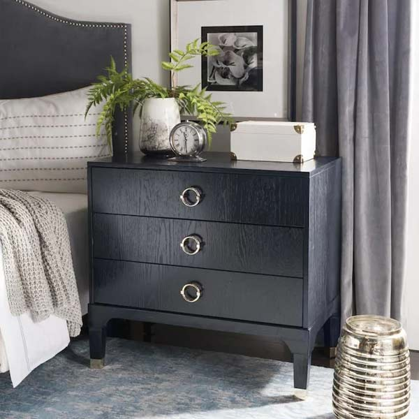 black classical dresserbed table