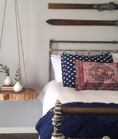fixer upper hanging bed table