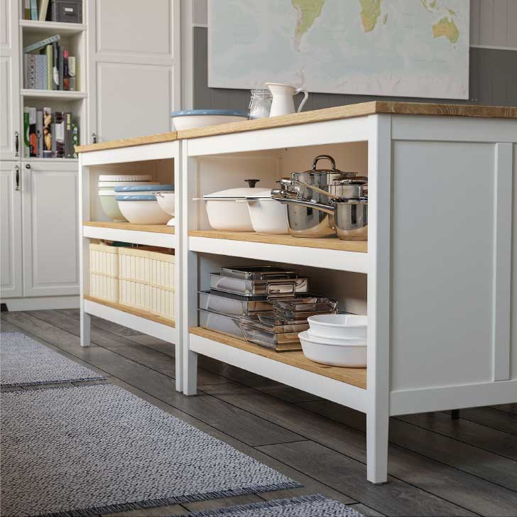 kitchen island pantry for small spaces