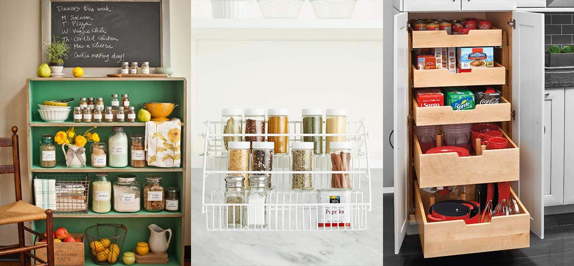 23 Kitchen Pantry Ideas For Small Spaces (Or No Space At All)