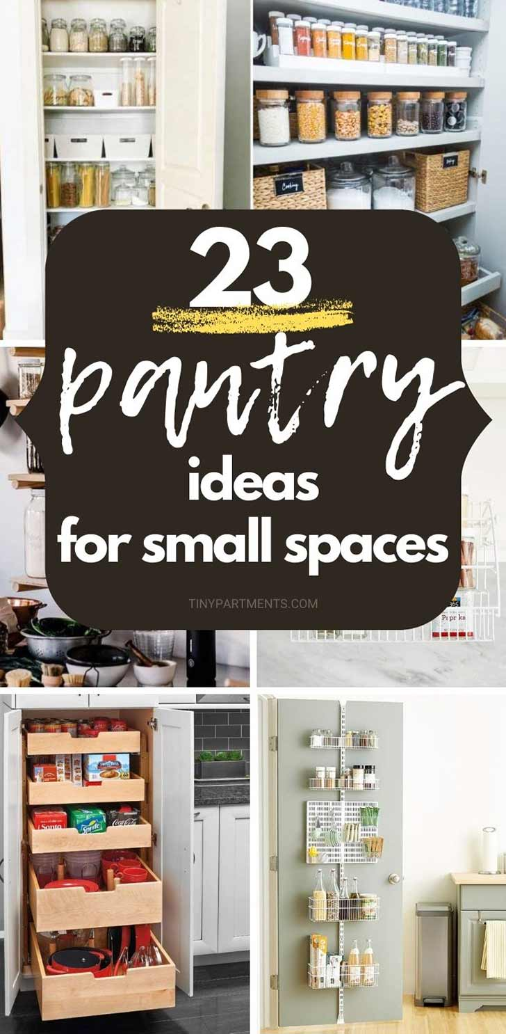 pantry ideas for a small space