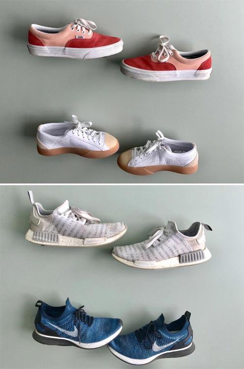 floating shoe shelves
