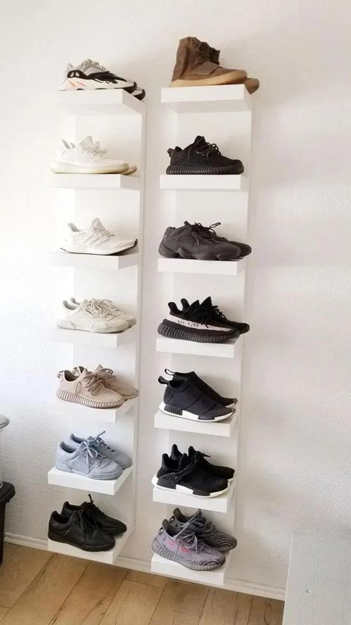 shoe display storage