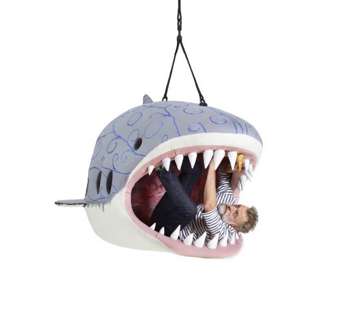 shark lounge chair