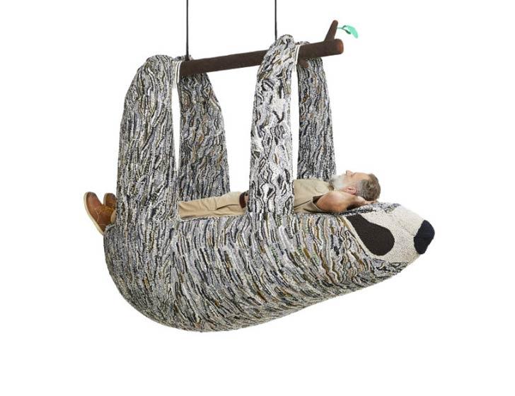 sloth lounge chair