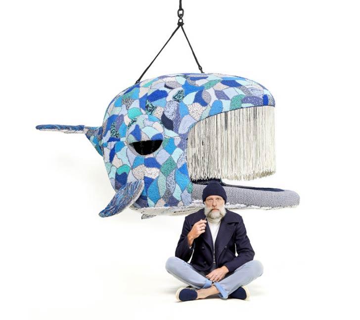 whale lounge chair