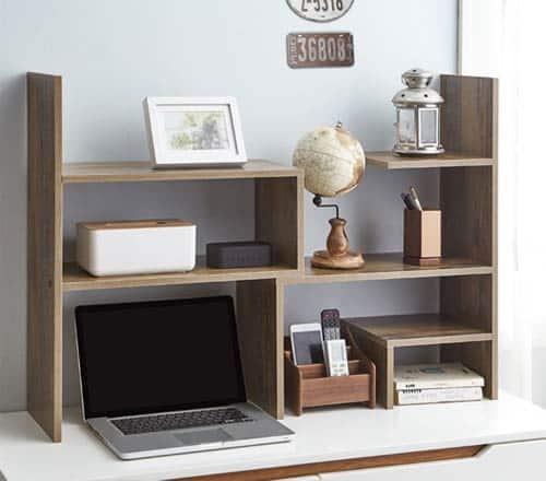 adjustable dorm desk bookshelf for guys