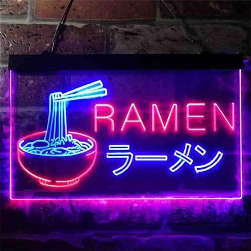 ramen sign for a guys dorm room