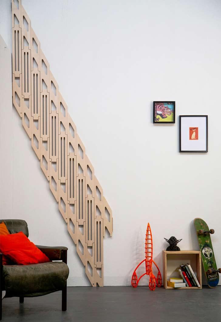 klapster folding staircase flat