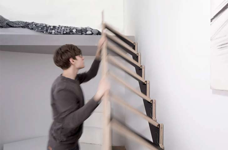 klapster folding staircase