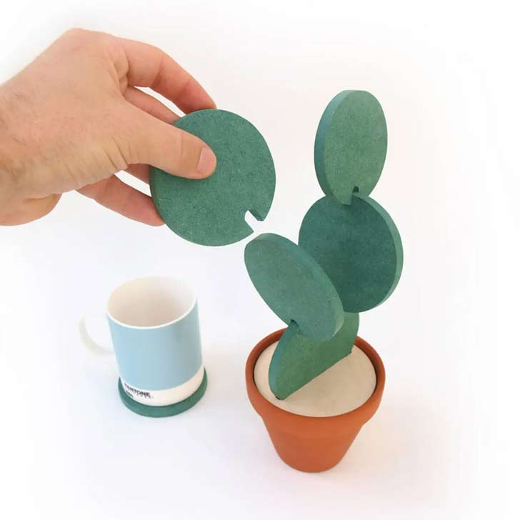 stackable cactus coasters