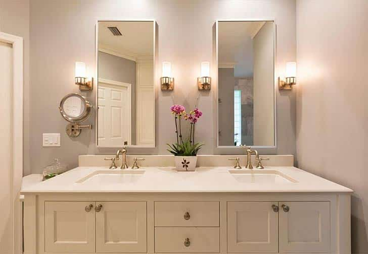 paint color in bathroom remodeling