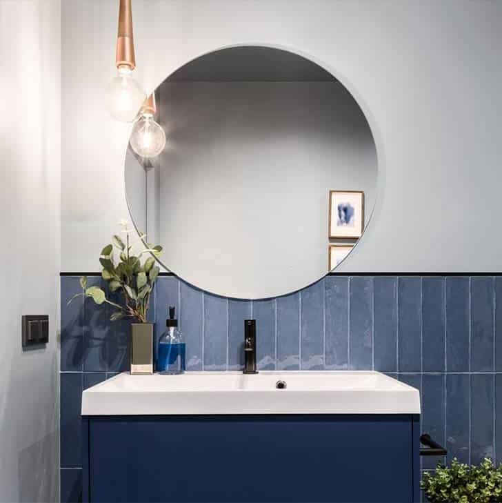 mirrors in bathroom renovation